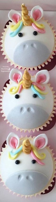 Cupcakes Unicornio Birthday Ideas For 2019 Cake Cookies, Cupcake Cakes, Cupcake Toppers, Oreo, Cupcake Recipes From Scratch, Unicorn Cupcakes, Wedding Cupcakes, Cute Cakes, Creative Cakes