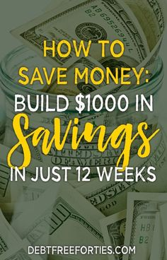 Struggling to save money? Learn the best way to save money quickly, complete with free printable savings worksheets. Get your $1000 savings built in just 12 weeks! #savings #emergencyfund #savemoney #FinanceWorksheets