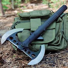 Looking for United Cutlery Double Bladed Tactical Tomahawk ? Check out our picks for the United Cutlery Double Bladed Tactical Tomahawk from the popular stores - all in one. Tactical Knives, Tactical Gear, Bushcraft, Throwing Axe, Armas Ninja, United Cutlery, Tomahawk Axe, Beil, Fantasy Weapons