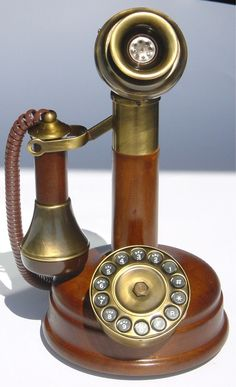 A Rotary Dial Telephone (These are now cell phones with no cord that play games, take pictures, help plan your day and surf the internet)