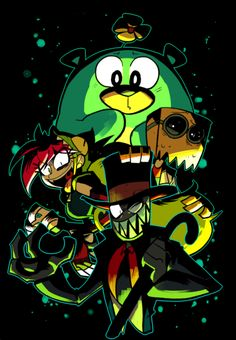 My favorite character has to be either Blackhat or Demencia. idk, I'm indecisive.