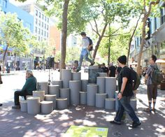 ShowBox - Create Your Own Street Stage and Seating: 6 Steps (with Pictures) Structure is Urban Furniture, Street Furniture, Public Space Design, Public Spaces, Street Performance, Architecture Portfolio, Architecture Diagrams, Site Plans, Smart City