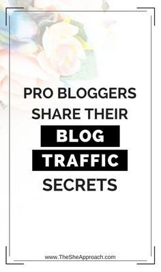 Proud of your blog and want to get the word out there? I interviewed some of my favorite bloggers and got their best blog traffic tips so you can apply them yourself and increase your page views, reach a bigger audience and grow your blog. Blogging tips f