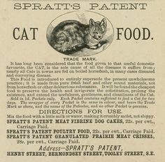"Image result for ""spratts cat food"""