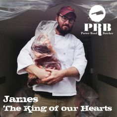 James Peisker of Porter Road Butcher is the King of our Hearts - and he's Speaking at the ACF Regional Conference in St. Louis!