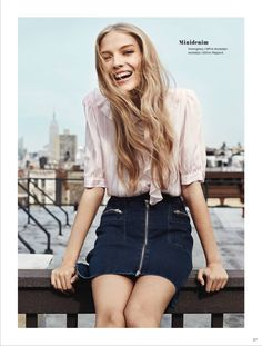 Fashion Editorial : Allie Lewis & Emmy Rappe by Eric Josjo for Elle Sweden February 2015 — BELGRAVE CRESCENT
