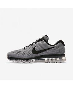 c591191106468 Nike Air Max 2017 Mens Grey Black Trainers Cheap Nike Air Max