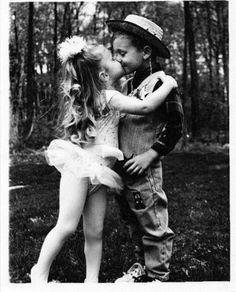 Ballerina & a cowboy......me & my future husband :)