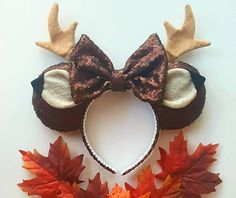 Forest Prince mouse ears deer mouse ears