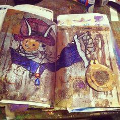 #art #journaling