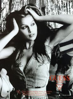 Laetitia Casta for Guess Jeans (90s)