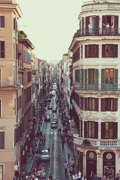 Balcones en Roma