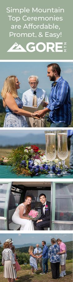 A mountain top ceremony is beautiful, unique, and accessible for all your guests. Our mountaintop scenery provides an unforgettable backdrop for your special day. Your memories will last a lifetime! Special Day, Special Events, Rehearsal Dinners, Vows, Destination Wedding, Backdrops, Scenery, Reception, Mountain Weddings