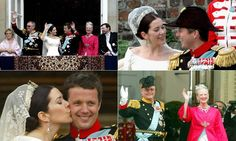 "HELLO! US on Twitter: ""So pretty! Relive Crown Prince Frederik and Crown Princess Mary's wedding"