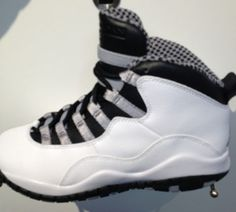 "Air Jordan X ""Steel"""
