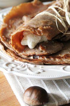 Profumi in cucina: Necci di farina di castagne #Chestnuts!