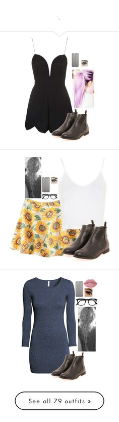 """."" by erika-demass ❤ liked on Polyvore featuring Topshop, Boohoo, Native Union, H&M, Lime Crime, Oh My Love, River Island, Monki, Zara and Doublju"