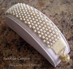 peyote stitch | Armbänder / Bracelet | Pinterest by Jersica