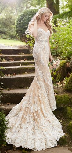 Martina Liana wedding dress. Click to see more dresses from this collection.