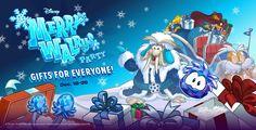 Merry Christmas Club Penguin!!