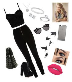 """""""Untitled #247"""" by hellosweeties2 ❤ liked on Polyvore featuring Jayson Home, Lime Crime, Michael Kors, Native Union and Yves Saint Laurent"""