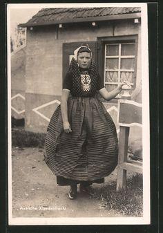 Trachten Niederlande   Trachten Europa   Alte Ansichtskarten / Postkarten