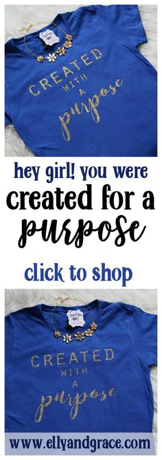 One of the popular ellyandgrace christian shirts- perfect gift! Popular combinations are the black shirt with gold glitter, or the dark heather grey shirt with silver glitter. Want a longer sleeve opt