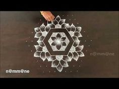 beautiful friday kolam designs with dots for beginners Indian Rangoli Designs, Rangoli Designs Latest, Simple Rangoli Designs Images, Rangoli Designs Flower, Rangoli Patterns, Small Rangoli Design, Rangoli Ideas, Rangoli Designs With Dots, Flower Rangoli