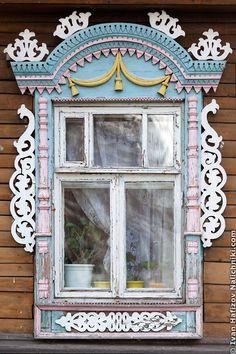 Русский наличник из Юрьевца Ивановской области
