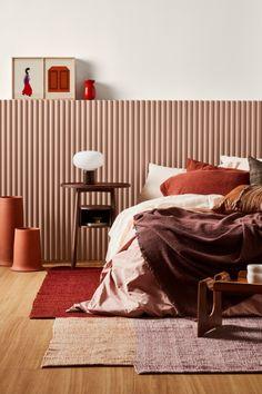 Autumn Bedding Master Bedroom, Master Bedroom Design, Home Decor Bedroom, Bedroom Ideas, Bedroom Colors, Master Suite, Bedroom Art, Bedroom Furniture, Decoration Design