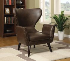 Brown Accent Chairs Stool Chair Home Depot 217 Best Images Upholstered Traditional Wingback Wing Fine
