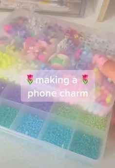 Diy Crafts Jewelry, Fun Diy Crafts, Diy Arts And Crafts, Diy Jewelry Necklace, Cute Jewelry, Diy Beaded Rings, Study Room Decor, Diy Bracelets Easy, Diy Phone Case