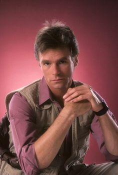 Richard Dean Anderson - MacGyverand Dr. Jeff Webber on General hospital in the 70's and 80's
