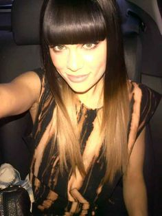 love the bangs + the color. LOVE the color #hairstyles