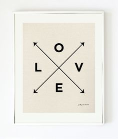Love Print - Modern Wall Art
