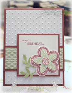Love to Make Cards: Triple Birthday Treat