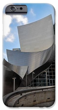 California IPhone 6s Case featuring the photograph Disney Hall by Gandz Photography