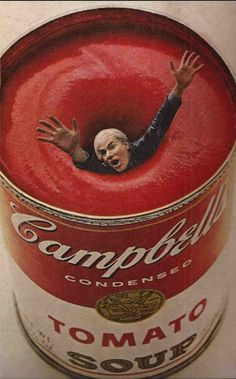 Rouge // Warhol et sa soupe !