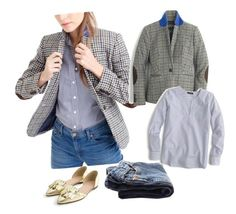 """""""Do I Need Another Blazer?"""" by dauchka22 ❤ liked on Polyvore featuring J.Crew, women's clothing, women's fashion, women, female, woman, misses and juniors"""