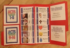 The Church Begins — Project Folder - helps students to memorize passages about worship, salvation, the mission of the church etc. in Acts Bible verses Bible Stories For Kids, Bible Lessons For Kids, Bible For Kids, Sunday School Activities, Bible Activities, Sunday School Crafts, Bible Songs, Children's Bible, Bible Verses