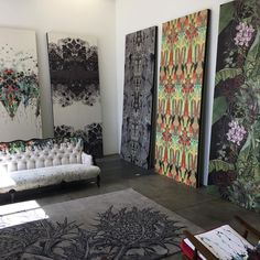 Our Berlin showroom, open Monday to Friday. Timorous Beasties, Shag Rug, Showroom, Curtains, Photo And Video, Berlin, Diner Ideas, House, Instagram