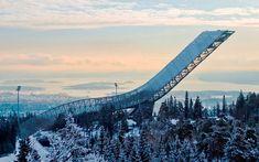 Homenkollen Ski Jump by Julien De Smedt Architects