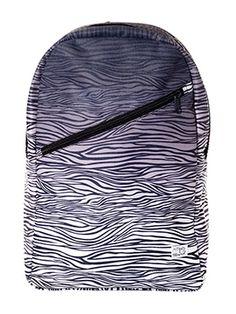 Spiral Faded Zebra Preston Backpack