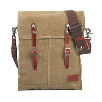 Size: 26cm(W) x 7cm(D) x 33cm(H)   Material: Leather (top grain leather), 20oz washed canvas