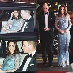 The Duke and Duchess of Cambridge attended the annual Royal Variety Performance at the Palladium Theatre in London.  via ✨ @padgram ✨(http://dl.padgram.com)