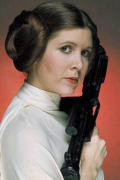 Carrie Fisher Princesa Leia Organa