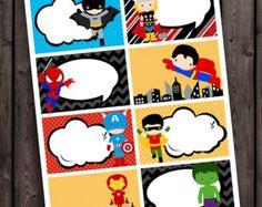 printable superhero images - Google Search
