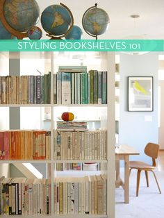 5 Tips For Styling Bookshelves » Curbly | DIY Design Community