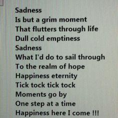 Sad desolate feeling :(