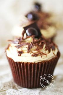 Tiramisu Cupcake with Mascarpone cream